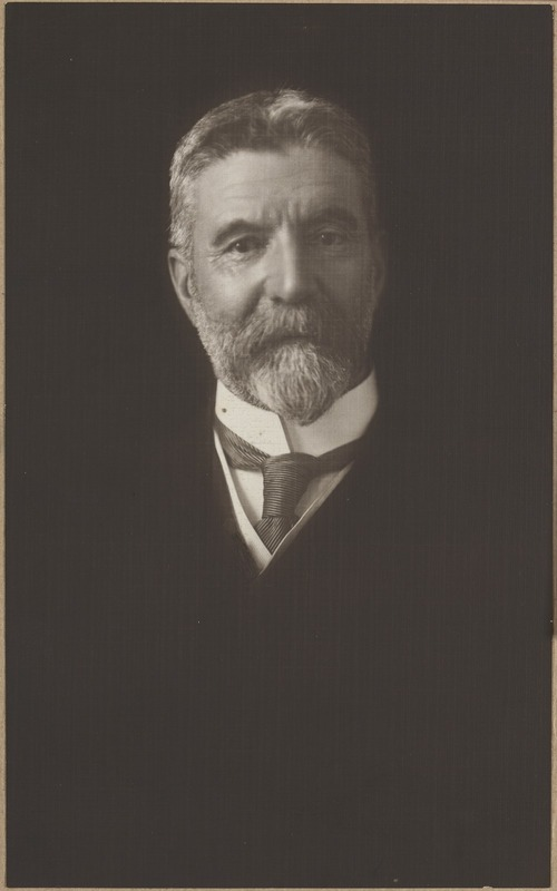 Alfred Deakin, second Prime Minister of Australia and Deakin University's namesake